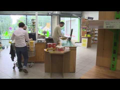 Vidéo de commerçant/e en alimentation
