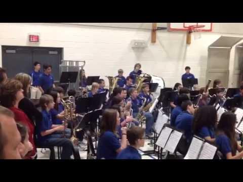 Haggard Middle School Band 1/21/14