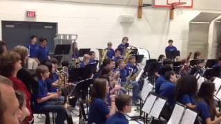 Haggard Middle School Band 1/21/14