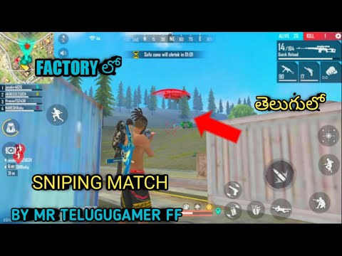 Beware Of My Scope In Factory Amazing Gameplay | Garena Free Fire | BY MR TELUGUGAMER FF