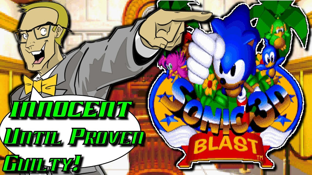 Sonic 3d blast sega genesis innocent until proven guilty