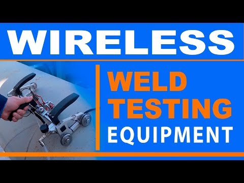 TOFD NDT Scanner With Wireless Equipment For Tofd Inspection Of Weld   TOFD Man