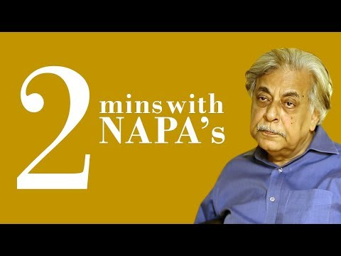 2-min take with Napa's Khalid Ahmed on theatre in Pakistan | SAMAA Digital | 29 Dec 2018