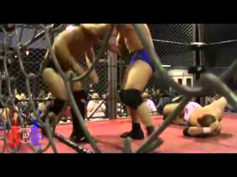 Steel Cage MITB Triple Threat Match - British Wrestling - Welsh Wrestling