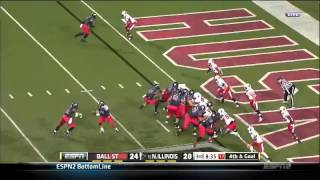 11/13/2013 Ball St vs Northern Illinois Football Highlights