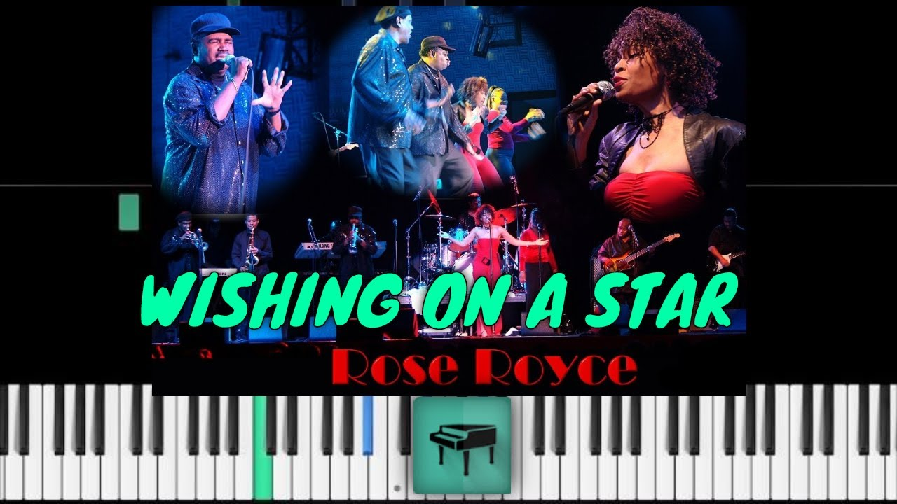 Rose royce wishing on a star piano tutorial youtube rose royce wishing on a star piano tutorial hexwebz Images