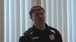 Уроки футбола с Константином Парамоновым. Часть 4
