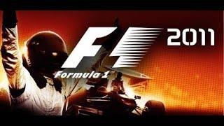 F1 2011 - INICIANDO O MODO CARREIRA - #02 - G27 - 720p60fps