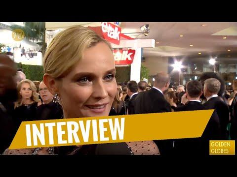 GOLDEN GLOBES 2018  RedCarpet mit Diane Kruger