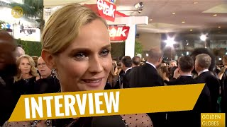 GOLDEN GLOBES 2018 | Red-Carpet-Interview mit Diane Kruger | FredCarpet