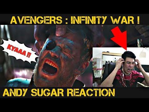 AVENGERS KOK ADA VOLDEMORT ?? - REACTION Andy Sugar !