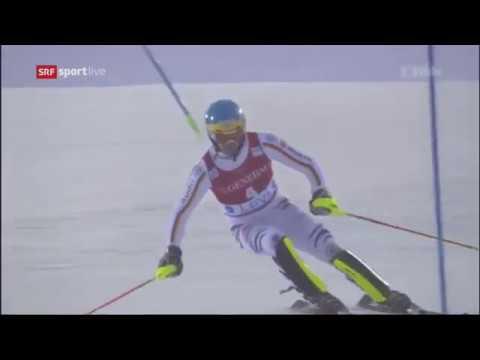 Felix Neureuther 2nd run wins Men's Slalom - Levi FIS Alpine Skiing World Cup 2017