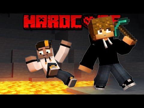 NUNCA PIQUES HACIA ABAJO! Minecraft Hardcore #2