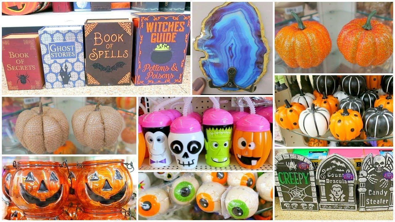 Dollar Tree Shop With Me Halloween & Fall Decor 2018 Dollar Tree Haul