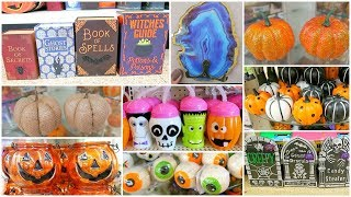 Dollar Tree Shop With Me - Halloween & Fall Decor 2018 + Dollar Tree Haul