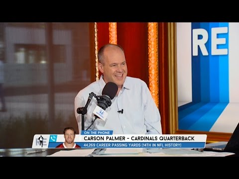 Arizona Cardinals QB Carson Palmer Dials in to The RE Show - 5/23/17