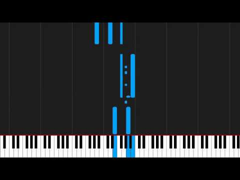How to play Baba yetu by Aquabella on Piano Sheet Music - YouTube