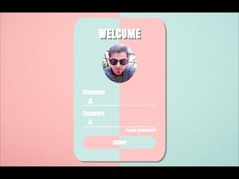[UNIQUE] Create Login Form In HTML And CSS With Source Code | Login Page In HTML And CSS [HINDI]