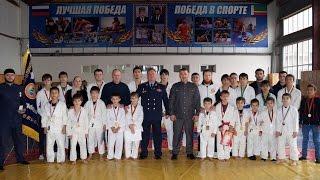 Гранд мастер С Б Ковалёв с официальным визитом посетил г Грозный 10 ноября 2016г