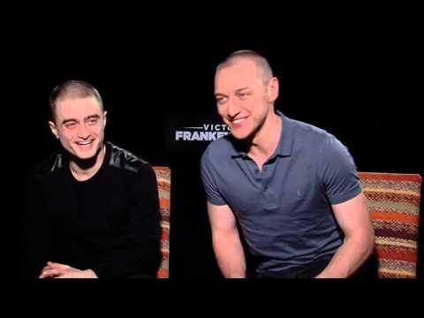 Victor Frankenstein Interview with Daniel Radcliff and James McAvoy