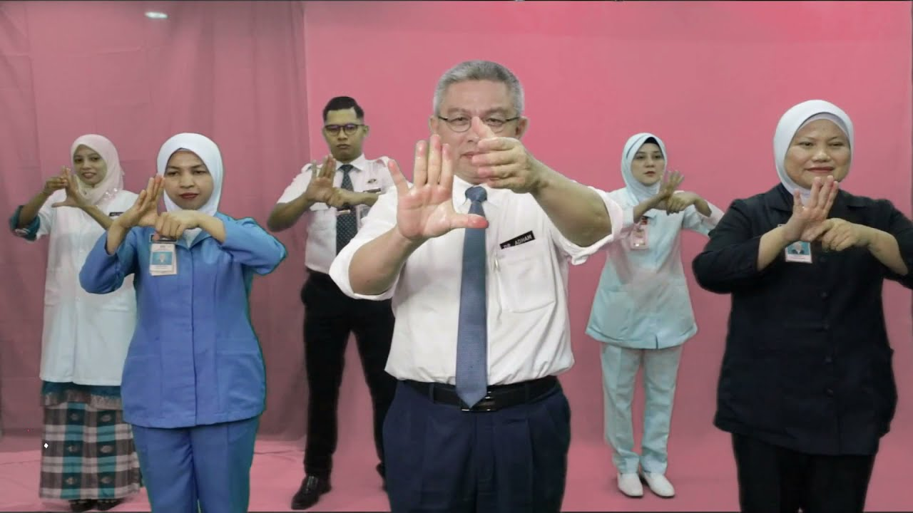 HAND HYGIENE CAMPAIGN BY ASIAN HEALTH MINISTERS