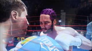 Yellow Step back Pays a Price -- Fight Night Champion  2016