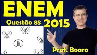 ENEM 2015 - QUESTÃO 88 - PROVA AZUL - FISICA   Prof.  Marcelo Boaro
