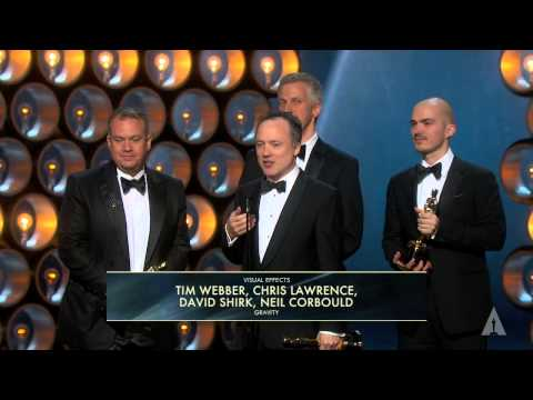 """Gravity"" winning the Oscar® for Visual Effects"