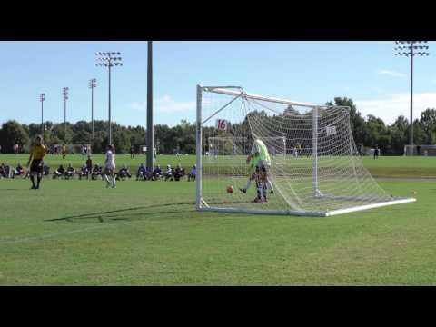 Ayana Weissenfluh #71 Penalty Kick Goal, Memphis 2016