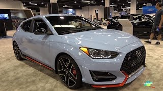 2019 Hyundai Veloster N Exterior and Interior Walk around 2018 OC Auto Show смотреть
