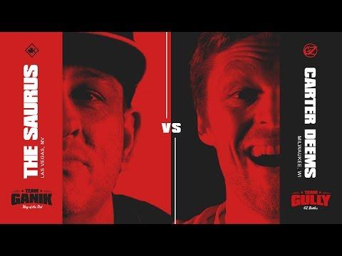 KOTD - Rap Battle - The Saurus vs Carter Deems   #GvG
