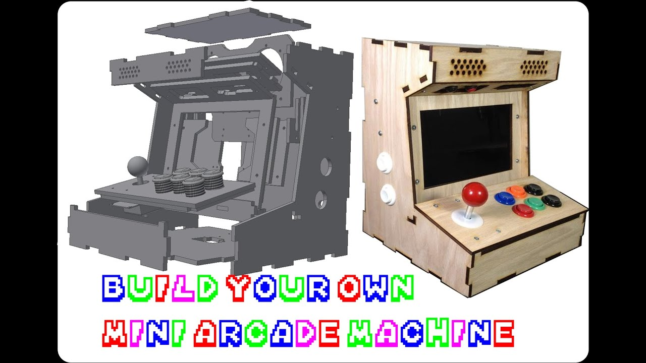 Diy mini arcade cabinet porta pi 9inch assembly guide update diy mini arcade cabinet porta pi 9inch assembly guide update youtube malvernweather Gallery