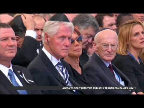 Shimon Peres laid to rest in Jerusalem