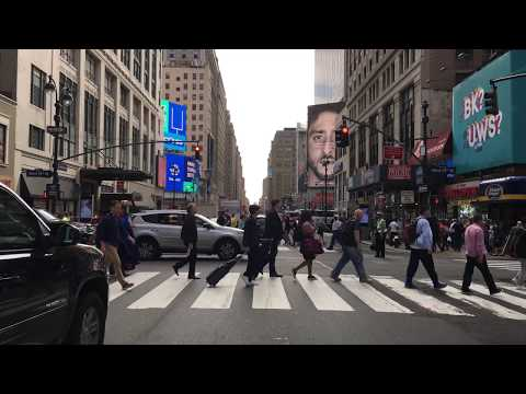New York City Drive 4K - Times Square - USA