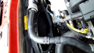 Проверка вентилятора охл.двигателя авео т250