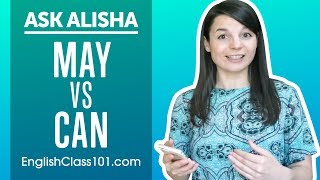 How to Use MAY and CAN? English Modals Differences - Basic English Grammar