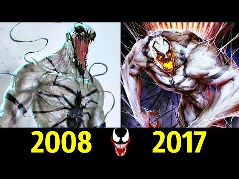 😱 Анти-Веном - Эволюция (2008 - 2017) ! Все Появления Симбиота 😡!