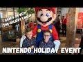 Nintendo Holiday Event - VLOG - Hands-On with Smash & Pokemon