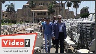 نصار يعلن تفاصيل حفل سحور جامعة القاهرة :