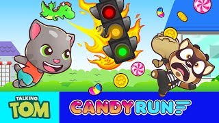 🍭 What the fudge?! 🍭 Talking Tom Candy Run 🍭 GAME Teaser