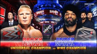 WWE Survivor Series 2017 - Official Match Card Raw vs Smackdown Live