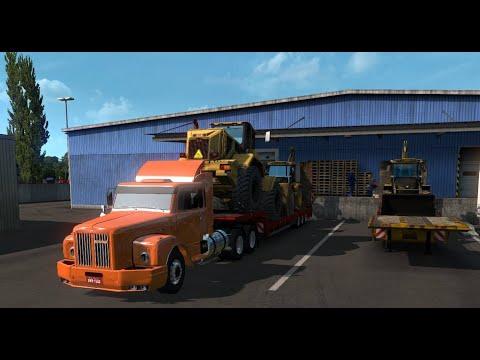 Scania 111 na Prancha Carregado para Boa Vista do Gurupi, Ma - Parte 01