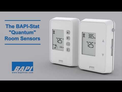 "BAPI-Stat ""Quantum"" Temperature or Temp/Humidity Sensor"