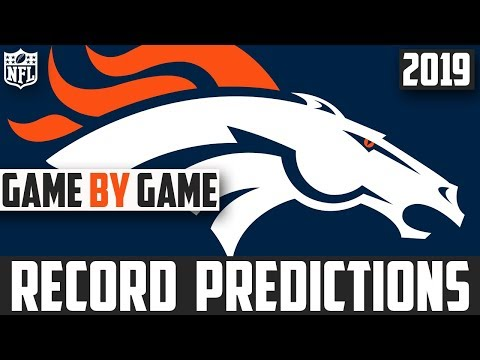 2019 NFL Record Predictions - Denver Broncos Record Prediction 2019