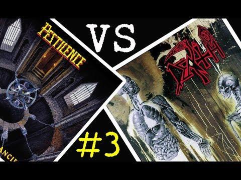 Pestilence vs Death - Batalla de los álbumes #3