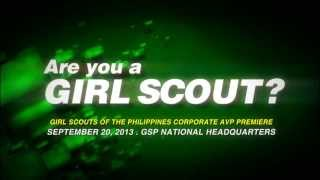 ARE YOU A GIRL SCOUT?