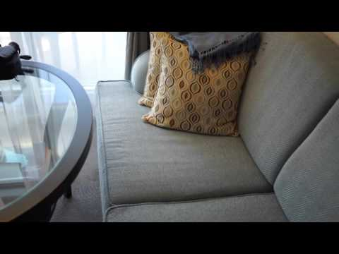 Veranda Stateroom Tour - Oceania Marina (9100 Cat A3) - YouTube