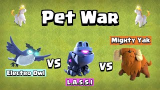 Epic Pet Battle | Finding The Best Pet | Clash of Clans