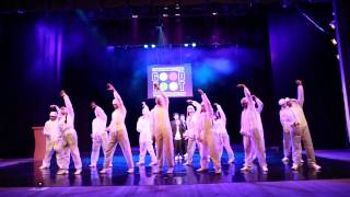 Дабстеп начинающие к/ф Начало (отчётный танцевальный концерт
