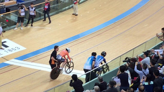 2017 UCI Track Cycling World Championships: Lee Wai Sze vs Laurine van Riessen